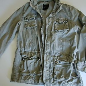 Mens Marc Anthony size large military jacket